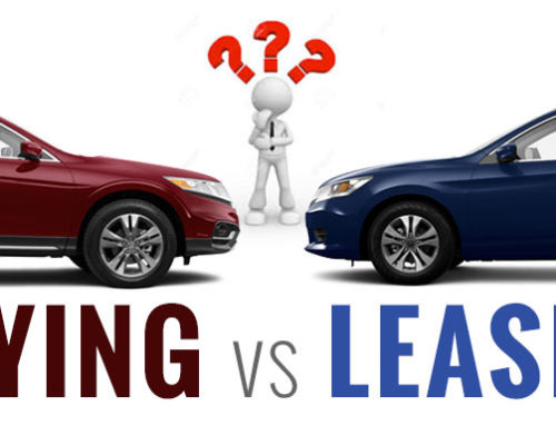 Auto purchase vs. auto lease